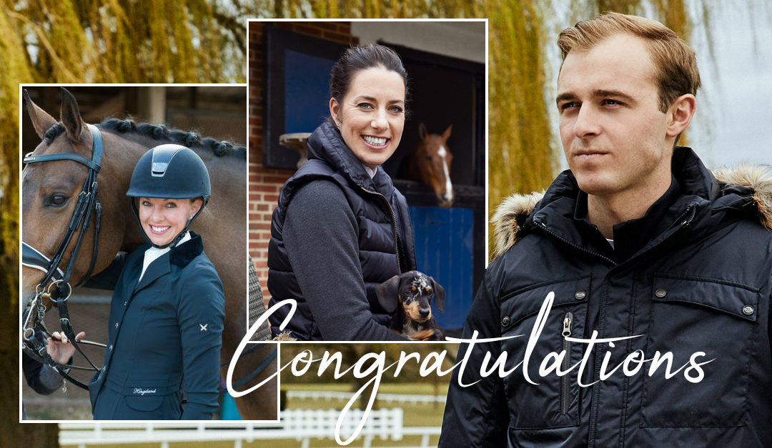 CONGRATULATIONS TO OUR RIDERS AT WEG!